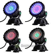 Submersible Pond Lights Underwater Pond Lights Ebay