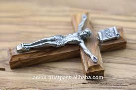 wood crucifix olive wood crucifix small wall cross buy handmade olive wood cross