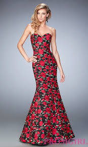 celebrity prom dresses evening gowns promgirl long floral