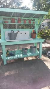 Inexpensive Potting Bench by 25 Trending Potting Station Ideas On Pinterest Garden Table