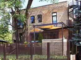 modern fence modern fence ideas industrial exterior to clearly sullivan goulette