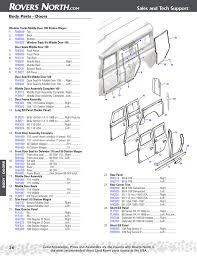Parts Of An Exterior Door Series Ii Iia Iii Door Seal Rovers Land Rover
