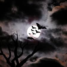 Halloween Flying Bats Beautiful Wallpapers Bats Wallpaper Spooky Background Tattoos