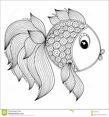 surprising idea fish coloring pages for adults fish coloring pages
