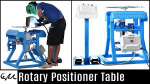 making a rotary table rotary positioner table youtube