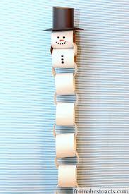countdown to a healthy thanksgiving paper chain snowman christmas countdown paper chains snowman
