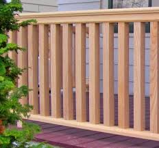 Banister And Spindles Traditional Cedar Porch Balusters Square Spindles Colonial