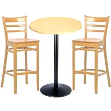 High Bar Table Set Pub Table Sets For Sale Merit Light Wood Bar Tables High Bar