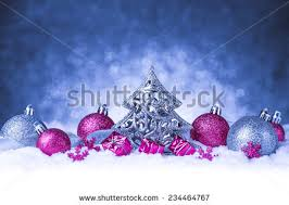 ornament snow on glitter background stock photo