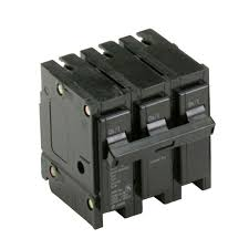 eaton 40 amp 3 in triple pole type br circuit breaker br340 the