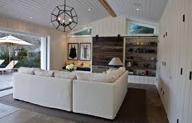 Modern Coastal Interior Design Villa Family Room Displays A Crisp Coastal Style Finished In