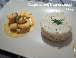 cuisiner du riz blanc les scis au curry et riz parfumé au bouquet garni un brin