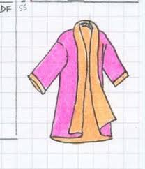 patron robe de chambre femme gratuit kimono réversible pop couture