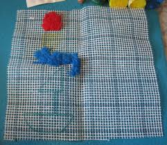 lot of 9 pks bernat 2 1 2 pre cut latch hook rug yarn mixed