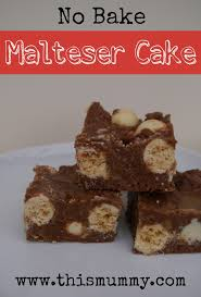 no bake malteser cake this mummy thismummy
