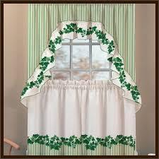 Pretty Kitchen Curtains by Pretty English Ivy Kitchen Curtains Design Interior Home