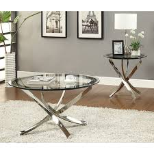 What To Put On End Tables In Living Room by Amazon Com Coaster Home Furnishings Modern Contemporary Round