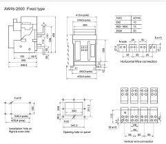 aw45 air circuit breaker 400v 690v vacuum circuit breaker buy