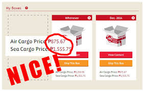 Freight Shipping Estimate by Lbc Shipping Cart Tutorial And Review A Peso Saved