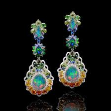 turquoise opal earrings opal jewellery photography 201 1 jpg opalsaustralia opal