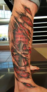 Ripped American Flag Tattoo 43 Torn Skin Tattoos With Revealing Concepts And Meanings