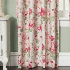 English Country Window Treatments by Unique Curtains Ikea Emmie Knopp Floral Curtains Drapes Semi