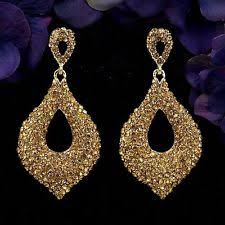 gold chandelier earrings gold chandelier earrings ebay