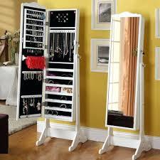Jewelry Storage Cabinet Wellsuited Full Length Bedroom Mirrors Garden Landmark Dressing