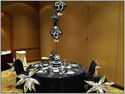 black and gold party decorations black and silver decorations black and silver balloon table