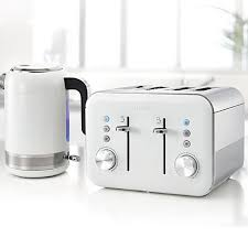 Kitchenaid Architect Toaster Breville Vtt687 High Gloss 4 Slice Toaster White Toasters High