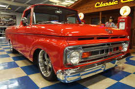 1961 ford f100 pickup u2013 red u2013 a u0026e classic cars