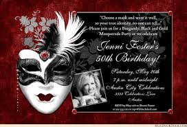 woman photo 50th birthday invitation rich magical party