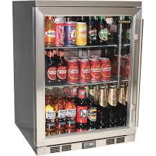 coca cola fridge glass door alfresco glass door bar fridge with low e heated glass stops