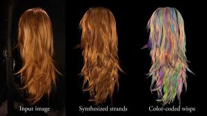 hair generator structure aware hair capture siggraph 2013 youtube