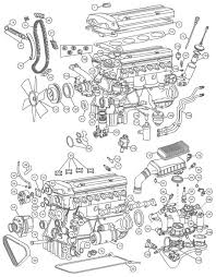 mercedes engine 1986 87 190e 2 3 16 mercedes parts and accessories