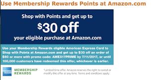 amazon black friday coupon 2012 30 free at amazon for amex membership rewards members deals