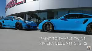 porsche voodoo blue twin riviera blue porsche 911 gt3 rs paint to sample u0027s porsche