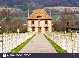 french country house calvados normandy france stock photo