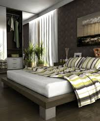 Plants For Living Room Bedroom Stunning Modern Grey And Green Bedroom Decoration Using