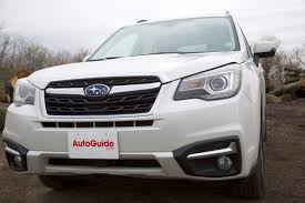 brown subaru forester 2017 subaru forester limited review autoguide com news