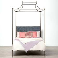 Iron Canopy Bed Frame Metal Canopy Bed King Black Beautiful Rod Iron Birdcages A Wood U