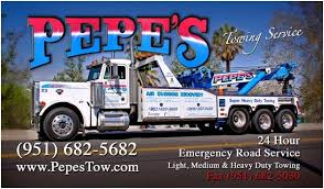 Tow Truck Business Cards Pepe U0027s Towing Service Get Quote Towing 745 W Holt Blvd