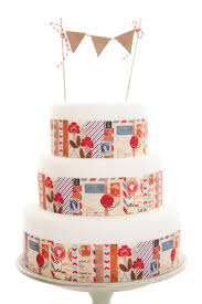 stamped letters around cake printed cakes pinterest paper