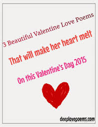 Valentines Day Love Quotes by Valentines Day For Her Happy Day Poems For Her Valentines Day