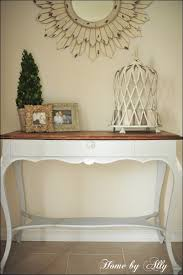 White Foyer Table Furniture Fabulous Entry Table With Drawers Small Narrow Console