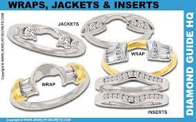 wedding ring jackets wedding bands that fit around enement ring wedding rings