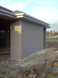 render dulux gunmetal beige house exterior painting