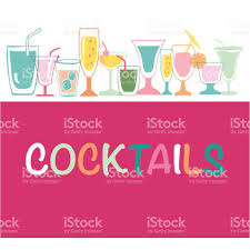 cocktail party invitation poster stock vector art 694878732 istock