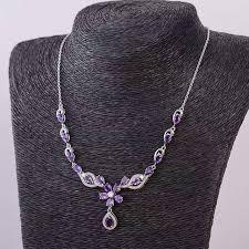 natural amethyst necklace images Online shop elegant amethyst necklace for evening party natural jpg