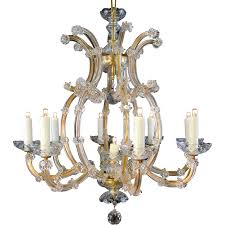 Maria Theresa 6 Light Crystal Chandelier 9 Light Maria Theresa Bohemian Crystal Chandelier From Table M On